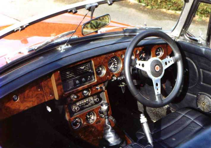 The Fine Woodworking Group Web Site - Classic Car Woodtrim Services