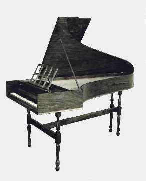 Click for a bigger picture - English Harpsichord (Copy after Slade 18th Century)