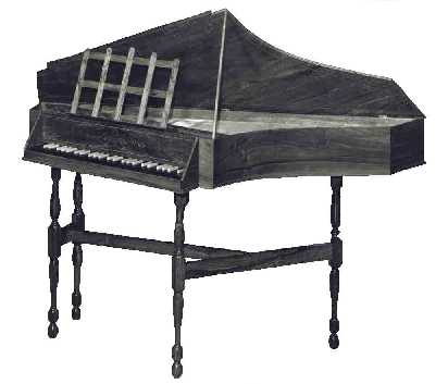 Click for a bigger picture - English Spinet (Copy after Keene 18th Century)